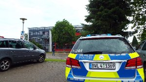Drohbrief: Betrieb an Realschule ruht