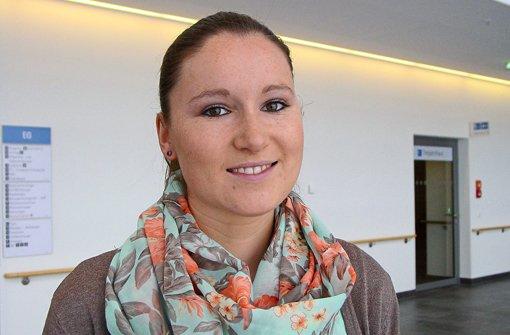 Laura Kunz, Auszubildende zur Gesundheits- und Kinderkrankenpflegerin. Foto: Schwarzwald-Baar Klinikum