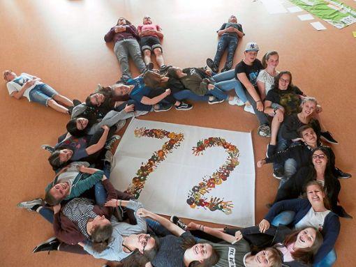 Die Jugendlichen wollen die Welt in drei Tagen ein Stückchen besser machen.   Foto: Seelsorgeeinheit Foto: Schwarzwälder Bote