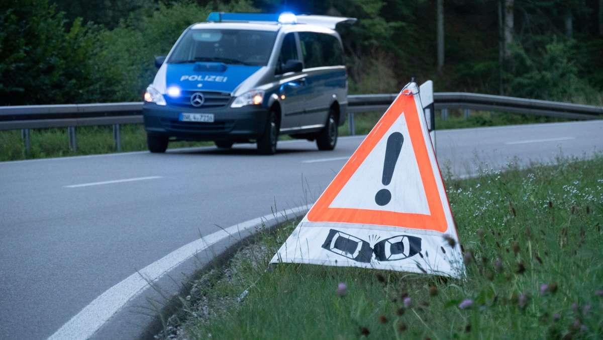 DeißlingenVS - 33-Jährige stirbt bei Sturz von Motorrad