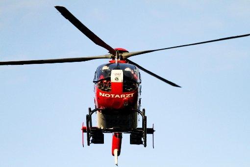 Der Verletzte wurde mit einem Hubschrauber ins Krankenhaus gebracht. (Symbolfoto) Foto: Schwarzwälder-Bote