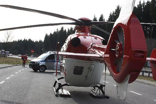 Ein Rettungshubschrauber flog die schwer verletzte Sozia ins Krankenhaus. (Symbolfoto) Foto: Bartler-Team