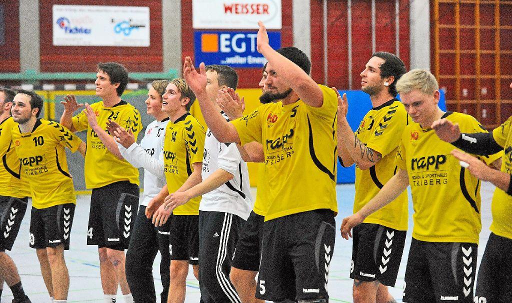 handball tv st georgen meistert erste h rde handball schwarzw lder bote. Black Bedroom Furniture Sets. Home Design Ideas
