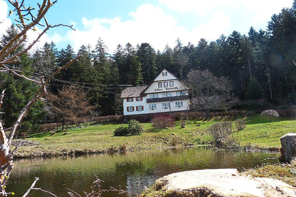 Das Gasthaus Moosenmttle Ist Seit 2006 Geschlossen Foto Jehle