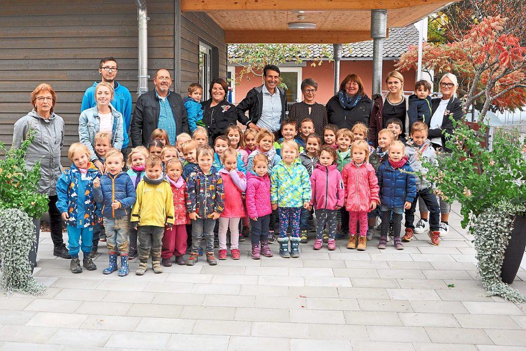 Oberndorf a. N.: Freiflächen und Outdoor-Hügel laden zum Spielen ein ...