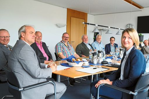 Die Verfechter des Schömberger Turmbaus erhoffen sich von dem Projekt wichtige Impulse für den Ort.    Foto: Fritsch