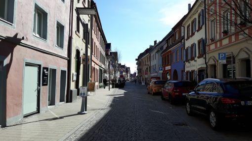 Die Färberstraße in Villingen wird während der Hohen Tage der Fasnet von der Polizei videoüberwacht. Foto: (nk)