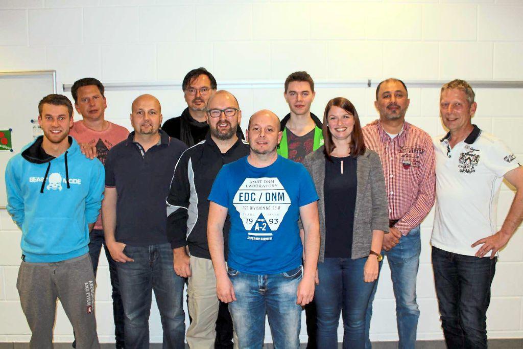 Sie freuen sich über ihren Turniersieg beim Hobby-Tischtennisturnier des TTC Blumberg in der Blumberger Eichbergsporthalle. Foto: Baltzer Foto: Schwarzwälder-Bote