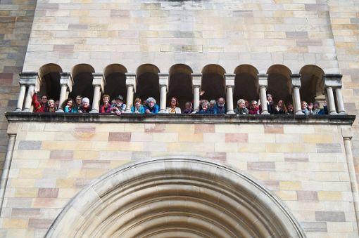 Eine gute Zeit verbringt das Zähringer Chörle in Luxemburg.   Foto: Zähringer Chörle Foto: Schwarzwälder Bote