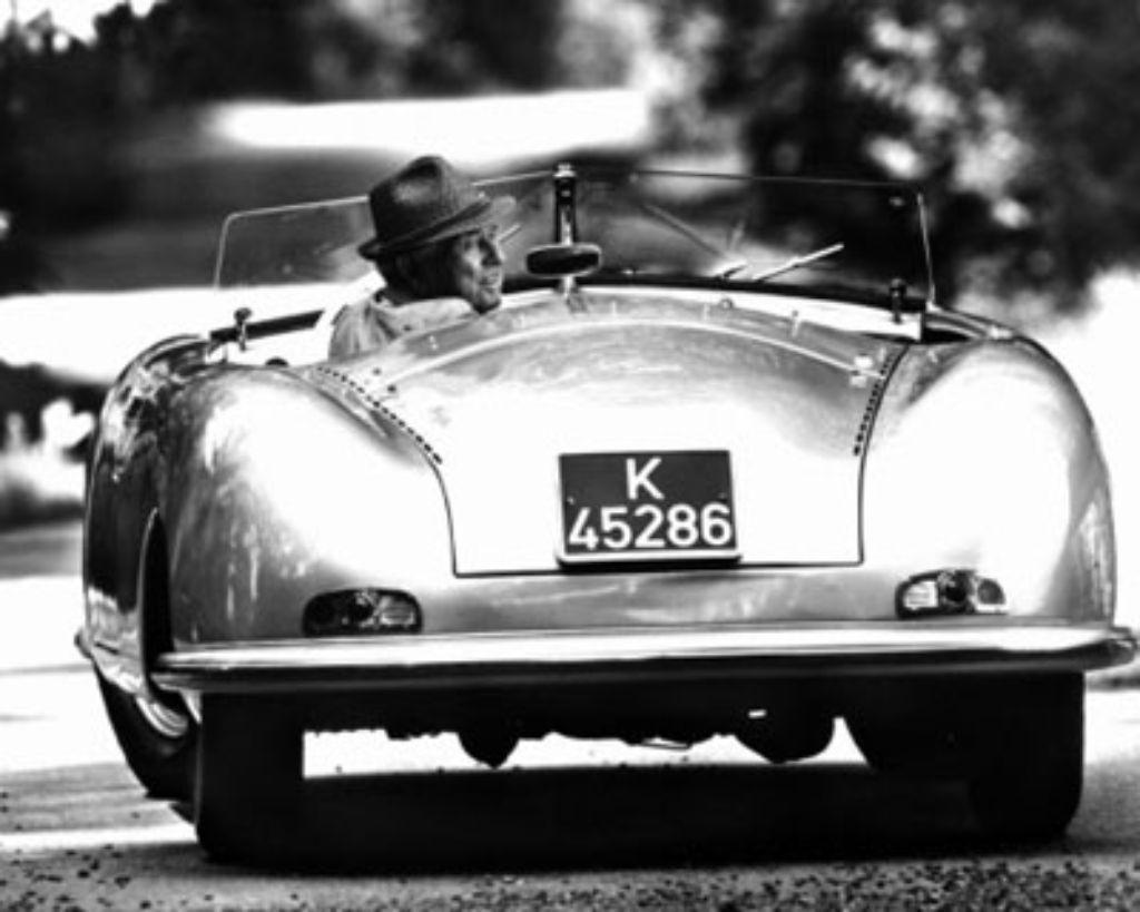 Ferry Porsche: Ein Leben für schnelle Autos - Nachrichten ...