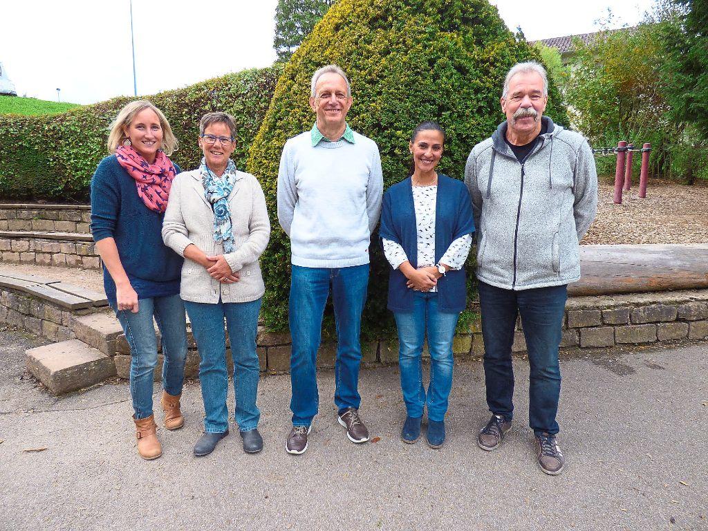 Nadine Steeb (von links), Jutta Maurach, Klaus Bayer und Ana Braun wurden