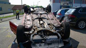 Unfall B294 Gestern
