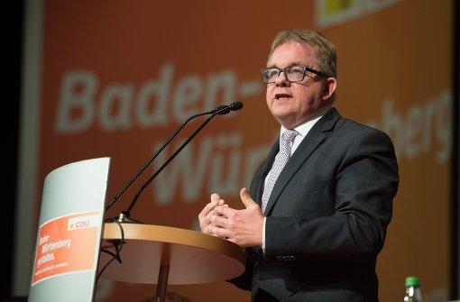 Guido Wolf wird Justizminister im grün-schwarzen Kabinett. Foto: dpa