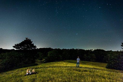 Der Strom der Perseiden war in der vergangenen Nacht besonders gut über dem Südwesten zu sehen. Foto: www.7aktuell.de | Robert Dyhringer