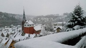 Winterstimmung in der Region
