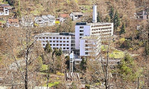 Die Camedi Holding sieht ihre Gesundheitsresort-Pläne im ehemaligen Krankenhaus jetzt auf gutem Weg. Foto: Archiv