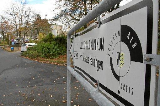 Klinik Hechingen. Derzeit liegen hier 15 Patienten mit Verdacht auf Norovirus-Infektion. Foto: Archiv