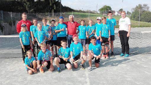 Das Sommercamp des Tenisclubs fand auch diesmal großes Interesse.  Foto: Tennisclub Foto: Schwarzwälder-Bote