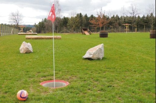 Fußballgolf im Freizeitpark Ebhausen-Rotfelden
