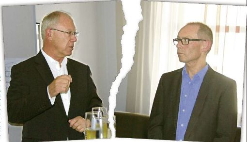 Kaspar Pfister (links) und Harry Ebert. Foto: Rapthel-Kieser/Montage: Hürster