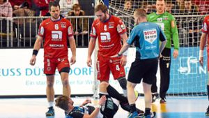 Handball: Eine emotionale Reaktion