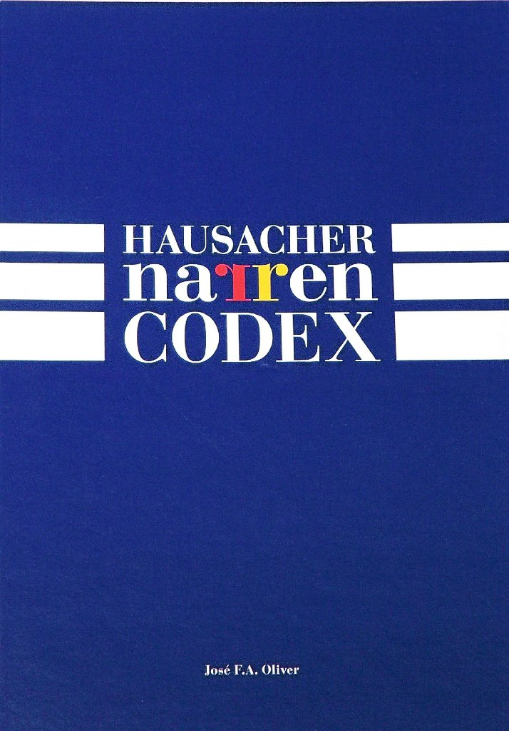 Das blau-weiße Cover des erweiterten Hausacher Narren-Codex ziert ...