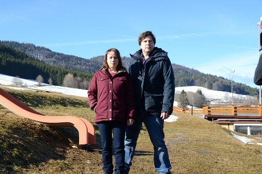 Die Dreharbeiten bei Bernau im Hochschwarzwald laufen. Kommenden Herbst soll der erste Fall  im Ersten ausgestrahlt werden. Foto: Fleig