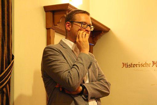 Der  Vorsitzende der Jungen Union Baden-Württemberg, Philipp Bürkle, steht zur großen Koalition. Allerdings mit einigen Einschränkungen. Beim politischen Aschermittwoch muss er sich vielen Fragen stellen.  Foto: Simon Foto: Schwarzwälder Bote