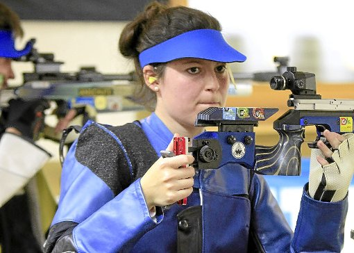 Als neue Gesamtzweite ist Bianca Mayer zugleich beste Dame im Teilnehmerfeld.  Foto: Kraushaar Foto: Schwarzwälder-Bote