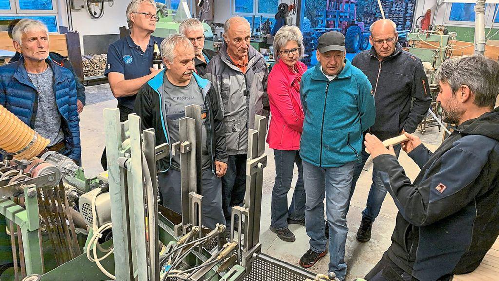 Haigerloch: Alterskameraden sehen wo der Hammer hängt - Haigerloch - Schwarzwälder Bote