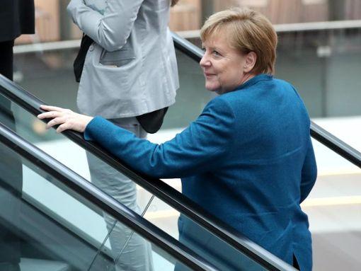 Die Bundeskanzlerin und derzeitige CDU-Parteivorsitzende Angela Merkel. Foto: Daniel Karmann/dpa