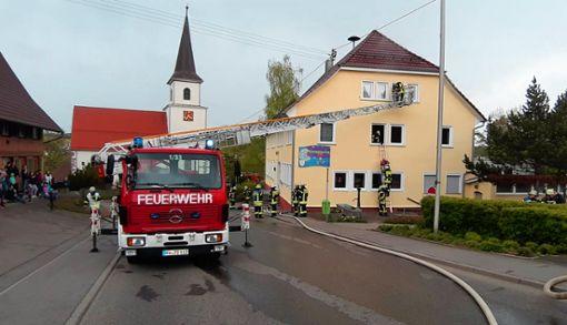 Es ist vorgegeben, welches Fahrzeug wie am Einsatzort eingesetzt wird.  Fotos: Feuerwehr. Foto: Schwarzwälder Bote