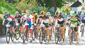 Stelldichein der Mountainbike-Elite