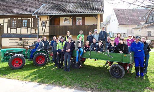 Die Beihinger Freiwilligen-Truppe bei der Aktion Saubere Landschaft.  Foto: Stadler Foto: Schwarzwälder Bote