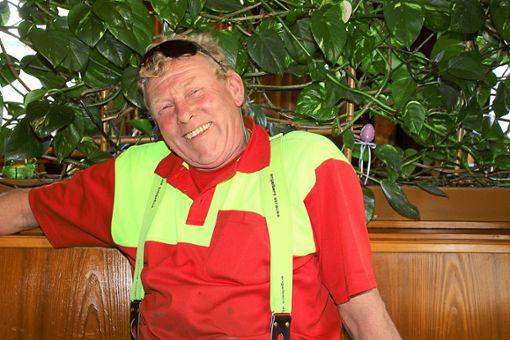Dieter Steeb bewirbt sich um einen Sitz im Simmersfelder Gemeinderat.  Foto: Köncke Foto: Schwarzwälder Bote
