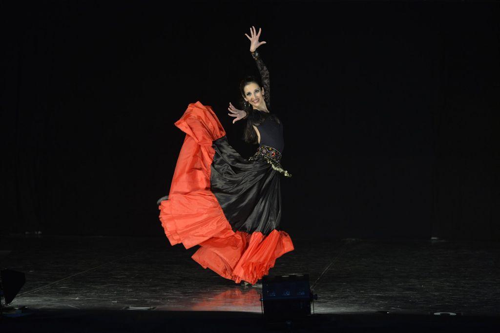 Kristina Metova verzaubert als Esmeralda die Jury bei der Europameisterschaft. Foto: Studiohorst Foto: Schwarzwälder Bote