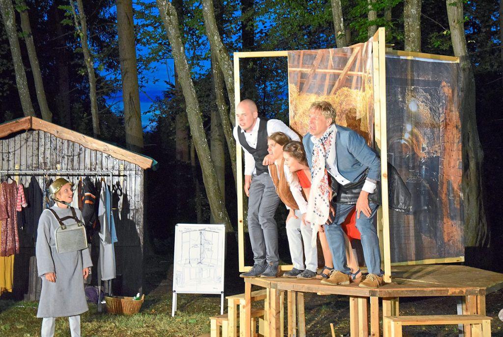 Bad Durrheim Inszenierung Von Don Quijote Uberzeugt Bad Durrheim