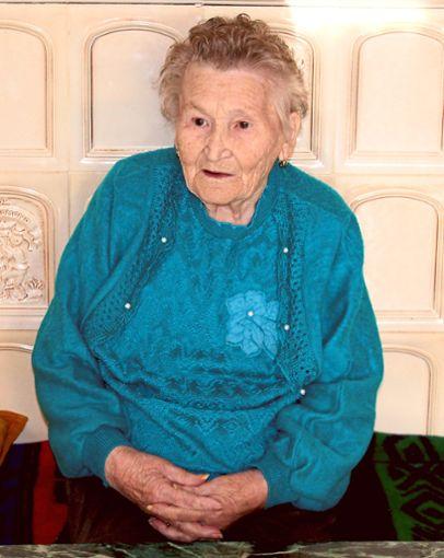 Ihren 90. Geburtstag feiert Helene Müller in Hondingen am heutigen Samstag mit ihrer Familie.  Foto: Steger Foto: Schwarzwälder Bote