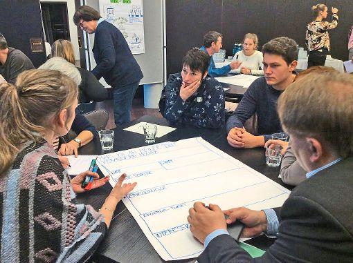 Eine Delegation von  Schüler-, Eltern- und Lehrervertretern des Thomas-Strittmatter-Gymnasiums  waren bei der Netzwerktagung der   16 Club-of-Rome-Schulen.   Foto: Seckinger Foto: Schwarzwälder-Bote