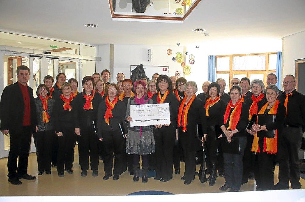 Schömberg: Chor unterstützt Kinderklinik - Bad Liebenzell