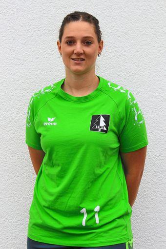 Christin Streif erzielte in der Schlussphase trotz einer Knöchelverletzung wichtige Rückraumtreffer Foto: Schwarzwälder Bote