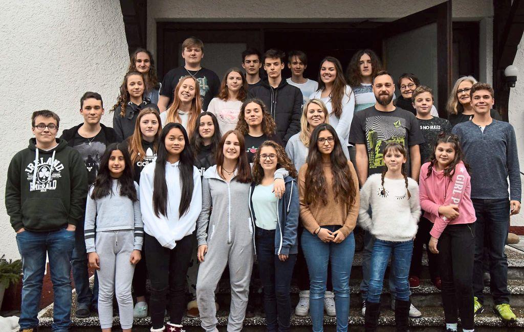 Diese Schüler des Gymnasiums am Deutenberg haben ein erfolgreiches Wochenende miteinander verbracht. Foto: Gymnasium Foto: Schwarzwälder Bote
