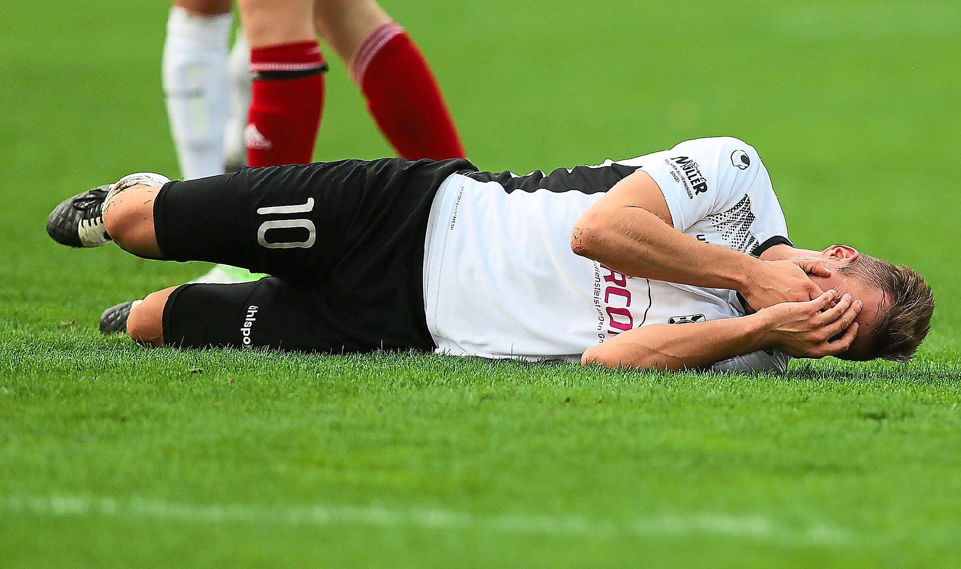 Fußball: FC 08 Villingen: Nicht nur Niederlage schmerzt