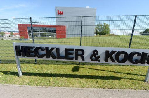Heckler & Koch hat zur Hauptversammlung geladen. Foto: dpa
