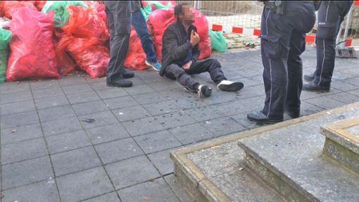 Mit der Polizei hatte Sascha K.  öfters zu tun.   Foto: Lück