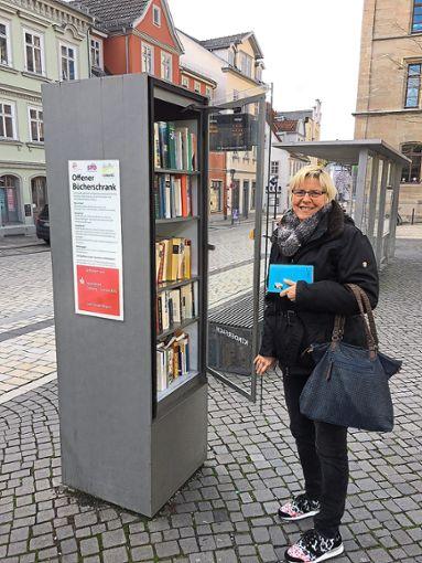 So könnte der Bücherschrank aussehen.  Foto: Hettwer Foto: Schwarzwälder Bote