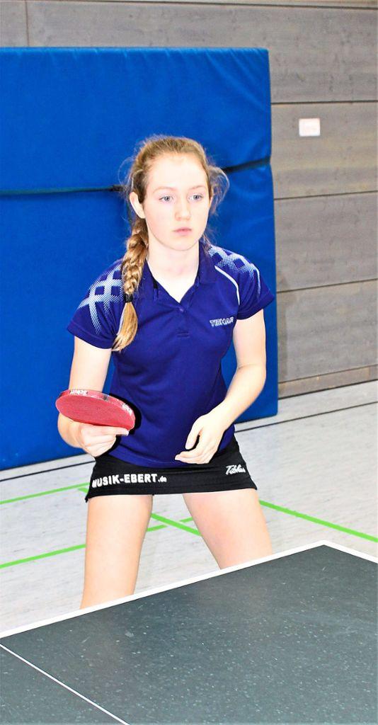Natalie Suhoveckji aus Beuren war mit drei Titeln das erfolgreichste Mädchen