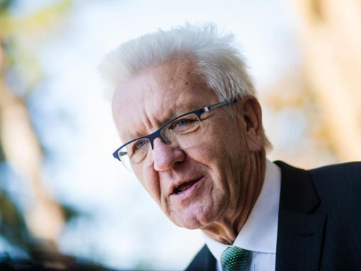 Winfried Kretschmann (Bündnis 90/Die Grünen), Ministerpräsident von Baden-Württemberg. Foto: Christoph Schmidt/Archiv/dpa