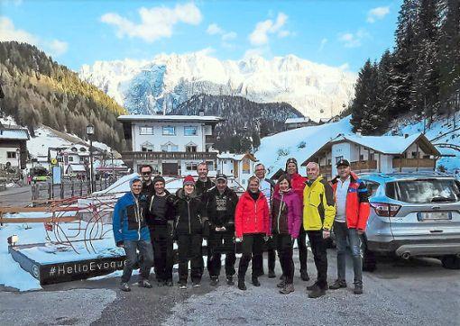 Die Dolomiten waren das Ziel einer Ausflugsgruppe des Ski-Clubs Seedorf.  Foto: Haag Foto: Schwarzwälder Bote