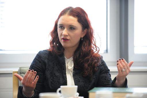 Agnieszka Brugger (Grüne).  Foto: Hopp